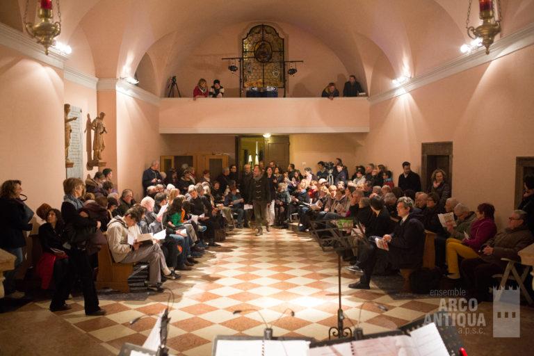 La chiesa di S.Anna ad Arco (TN), Italy