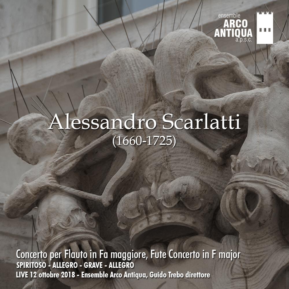 Alessandro Scarlatti Concerto per Flauto in Fa maggiore